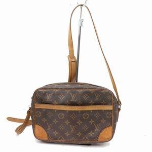 Auth Louis Vuitton Trocadero 27 Bag #1079L16